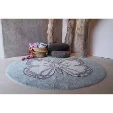 tapis rond chambre canals tapis rond pour chambre de fille vert réversible