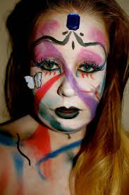 halloween theatrical makeup beauty is a creation of art halloween theatrical makeup