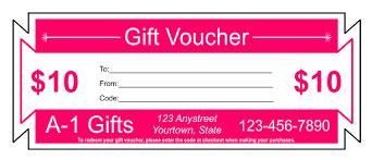 gift voucher samples gift voucher templates