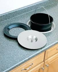 poubelle cuisine encastrable dans plan de travail poubelle cuisine encastrable dans plan de travail vide dacchets inox