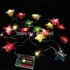 Fairy Lights For Bedroom by Aliexpress Com Buy 20 Set Handmade Star Rattan String Lights