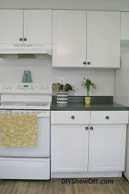 Rustoleum Cabinet Transformations On Melamine Rustoleum Cabinet Transformations Apartment Progress Diy Show