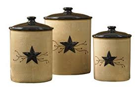 primitive kitchen canister sets park designs vine canisters set of 3