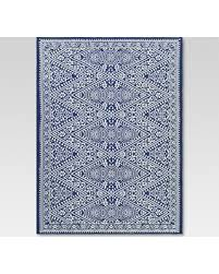 Outdoor Rug 6 X 9 Amazing Deal On Tapestry Blue Outdoor Rug 6 X9 Threshold