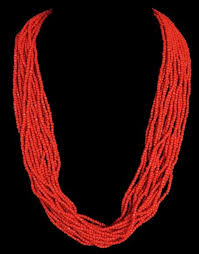 red coral bead necklace images Red coral necklaces jpg