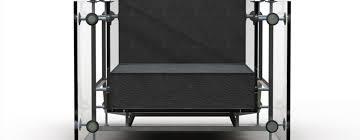 a transparent twist on le corbusier u0027s lc3 armchair core77