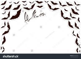 a halloween bat with a dark background bat dark forms frame white background stock vector 493067620
