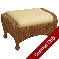 sedona wicker deep seating settee cushions