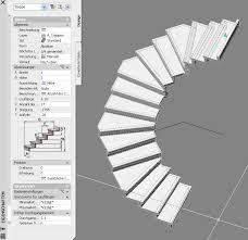 halbgewendelte treppe konstruieren halbgewendelte treppe autodesk autocad architecture aca adt