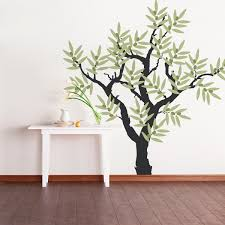 olive tree vinyl wall decal tree wall sticker nature wall zoom