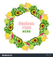 mexican food clipart borders collection