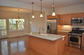 Maple Kitchen Cabinets With Granite Countertops Maple Cabinets Bianco Romano Granite Counters Stainless Steel