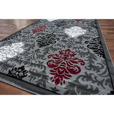 Grey Area Rug Fantastic Black And Grey Area Rugs Black And