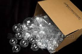 bulk 140mm clear acrylic fillable ornaments acrylic fillable