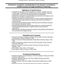 Sample Resume Nursing Student by Graduate Nurse Resume Graduate Resume Cover Letter