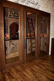 custom wine cellar and tasting room installation in texas