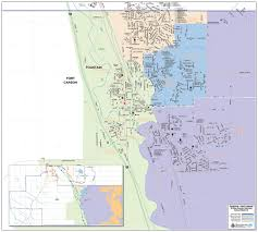 fort carson map about district 8 boundary maps