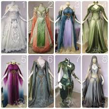 beautiful elven fairy dresses great reference for original ideas