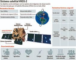 imagenes satelitales caracteristicas satélite sucre estará listo en 36 meses