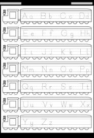 traceable alphabet worksheets a z worksheets