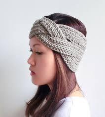 crocheted headbands add style to your winter look with these crocheted headbands