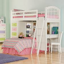 White Bunk Bed With Desk  Trendy Interior Or Bedroom Bedroom - White bunk beds with desk