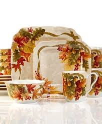 56 fall dinnerware sets fall dinnerware colors from to