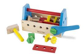 amazon com melissa u0026 doug take along tool kit wooden construction