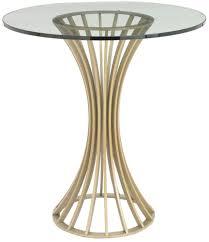 buy rv astley lanza satin champagne side table online cfs uk
