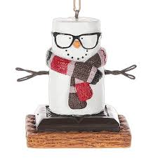 16 best s mores tree images on snowman ornaments