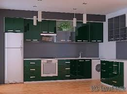model kitchen kitchen sets modern 3d model 3d land net