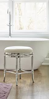 Vanity Stools And Chairs Freshen Up In Your Master Bath With Service From Our Bailey Vanity
