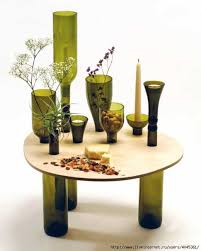 Decorative Lights For Vases 20 Amazing Glass Recycling Ideas For Creating Bottle Furniture
