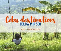budget travel images Budget travel cebu destinations below 500php hey miss adventures png