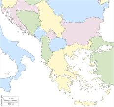 Map States Balkans Free Map Free Blank Map Free Outline Map Free Base Map