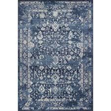as bob mackie vintage 1310 azure blue marrakesh traditional rug