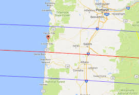 lincoln city map total solar eclipse on the oregon coast lincoln