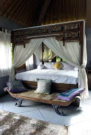 Bedroom Decorating Ideas From Arty To Exotic Traditional Home - Bali bedroom design