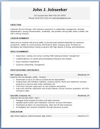 Client Services Manager Resume Free Customer Service Resume Samples Resume Template And