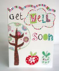 get well soon cards tree apples get well soon card karenza paperie