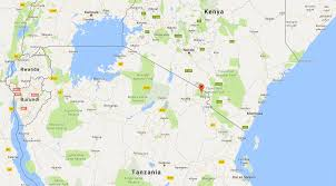 Burundi Africa Map mount kilimanjaro location and map