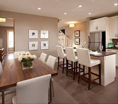 Best Kitchen Island  Attached Table Images On Pinterest - Kitchen design with dining table
