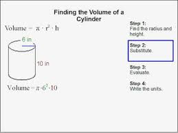 volume cylinder worksheet how to find the volume of a cylinder