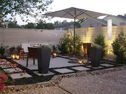 Garden Decor With Stones Patio Garden Ideas Containers Photograph Stylish Patio Gar