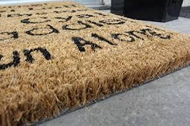 zerbino di cocco coco zerbino per porta d ingresso in fibra di cocco nuovo e