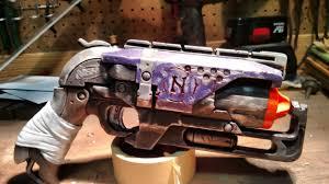 nerf car gun nerf hammershot u201cruned veteran u201d u2014 weasyl