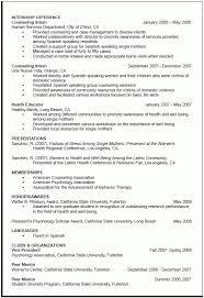 Psychology Resumes Resume Format For Graduate Grad Application Resume