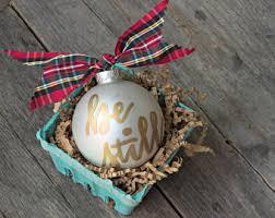 personalized ornament ornaments