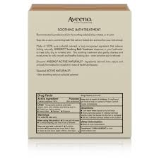 Soothing Bathroom Style Aveeno Active Naturals Soothing Bath Treatment 8 Single Use