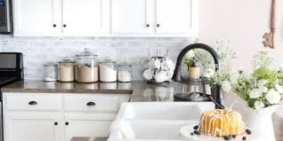 kitchen 7 budget backsplash projects diy easy kitchen ideas